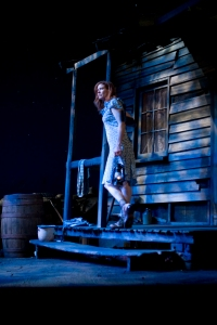 "Kate Udall in ""A Moon for the Misbegotten."" Photo by Meghan Moore."