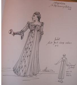 Juliet Costume Desgin - Arthur Oliver